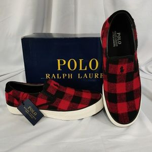 Polo Ralph Lauren Thompson Buffalo Check men shoes